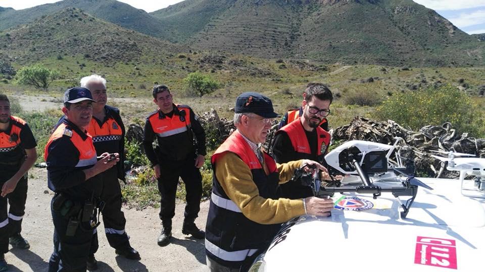 La expedición andujareña que colaboró en Almería siente rabia por el desenlace final