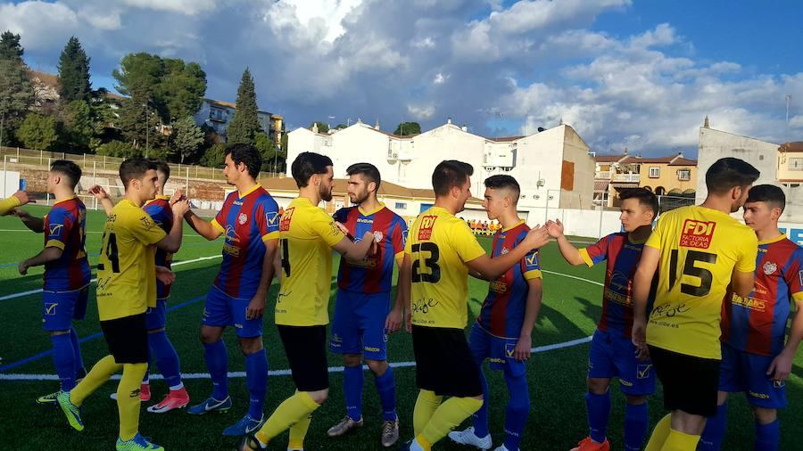 El Begíjar supera por la mínima al Iliturgi con un espectacular gol de Luis Casas desde el centro del campo