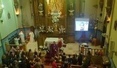Escolares de Andújar piden por el alma de Gabriel