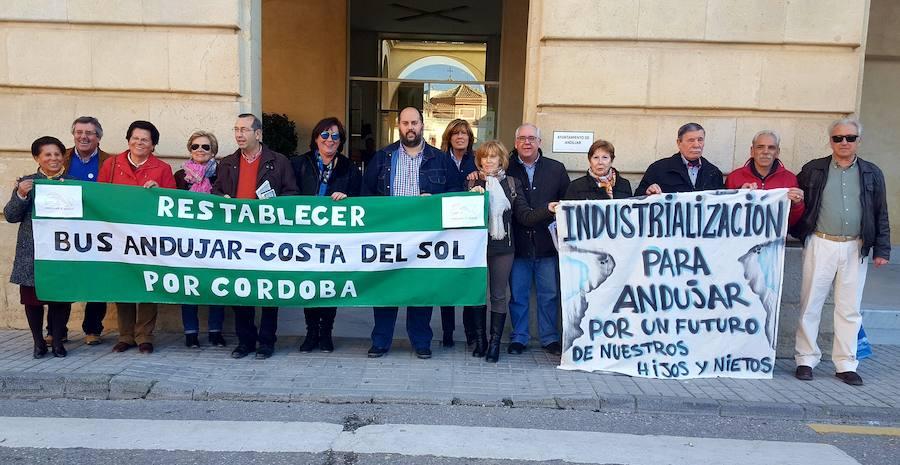 Piden más transporte e industria para la ciudad de Andújar y su comarca