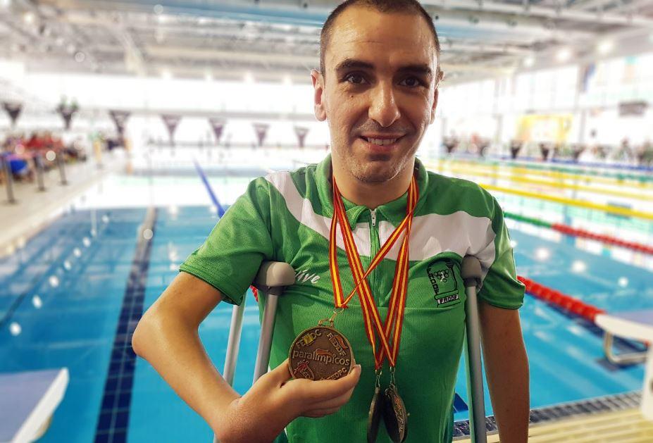 Miguel Ángel Martínez Tajuelo gana un oro y dos platas en el Campenato de España de Comunidades Autónomas