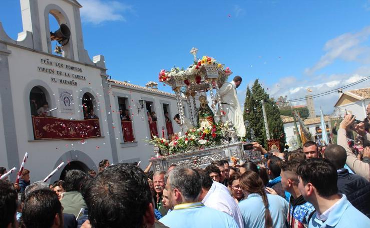 Las imágenes de la Romería de la Virgen de la Cabeza