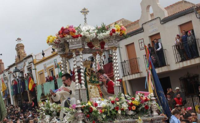'La Morenita' empapa de fe los corazones