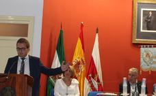El joven Jorge Cecilia impregna de marianismo su pregón a la peña Los Peregrinos
