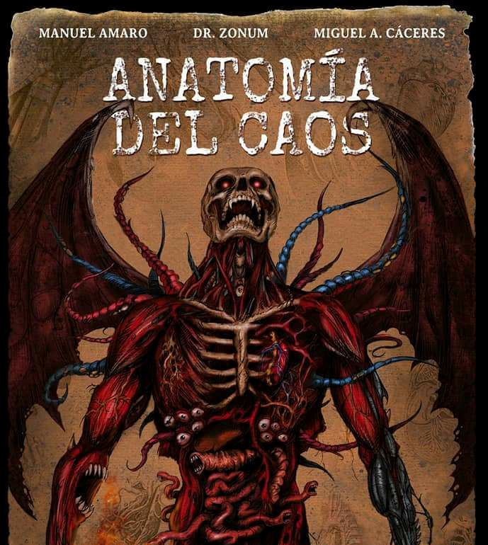 El cómic 'Anatomía del Caos' opta al premio nacional de ficción