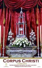 Hoy arrancan los actos del Corpus con la celebración de la novena en Santa María