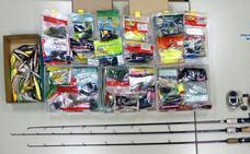 Dos detenidos en Andújar por robar material en un almacén de pesca por valor de 23.000 euros