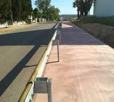 Polémica por las obras de construcción del carril-bici en el municipio