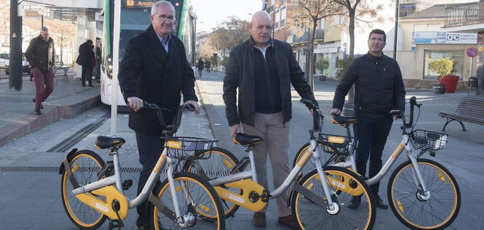 Armilla pone en marcha el servicio de alquiler de bicicletas