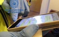 'Cazan' a un pederasta en Granada al encontrar un móvil con 63.000 fotos de contenido pedófilo cerca de un colegio