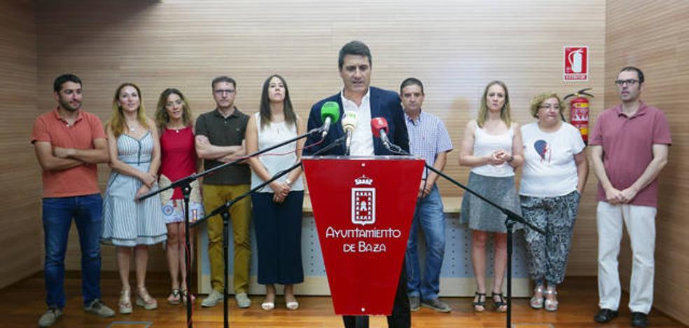 El equipo de gobierno del Ayuntamiento de Baza garantiza una inversión de 18 millones de euros hasta 2019