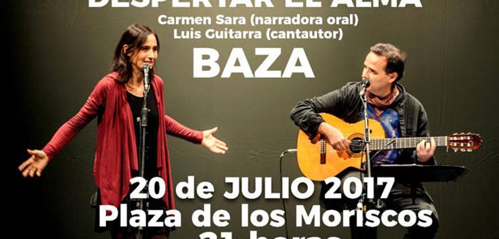 Luis Guitarra y Carmen Sara ofrecen un concierto organizado por Manos Unidas