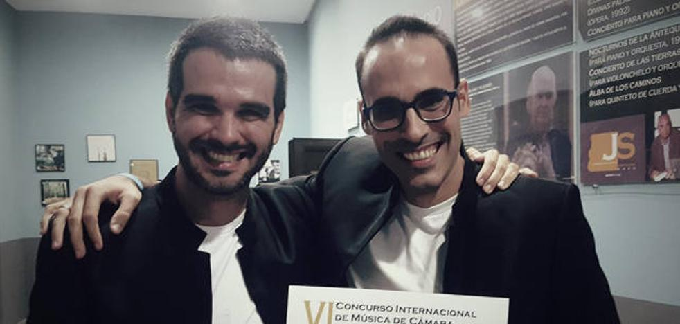 El Dúo de saxofón y piano 'Ludos Tonalis' gana el sexto Concurso Internacional de Música de Cámara Antón García Abril