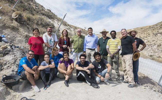 Finaliza la campaña de excavaciones en el yacimiento paleontológico Baza 1 con importantes novedades