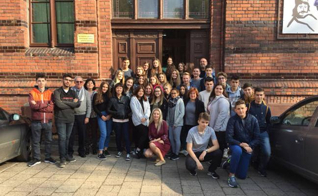 Alumnos del IES Pedro Jiménez Montoya participan en Polonia en un encuentro del proyecto Erasmus