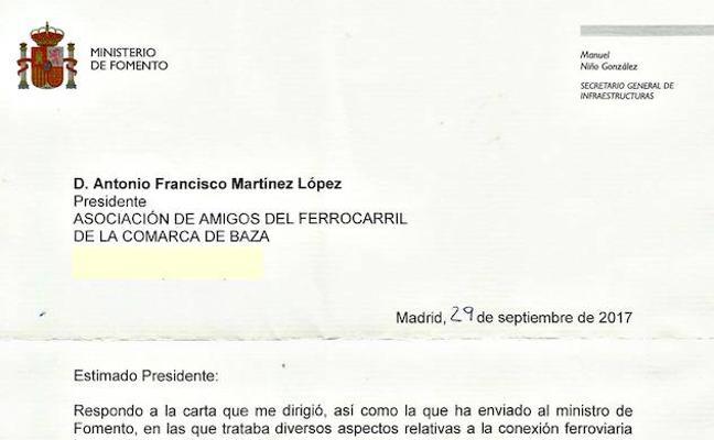 La vuelta del tren Guadix-Baza-Lorca, en el anteproyecto de los Presupuestos del Estado