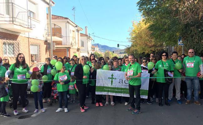 500 personas participan en la III Marcha Contra el Cáncer de Puebla de Don Fadrique