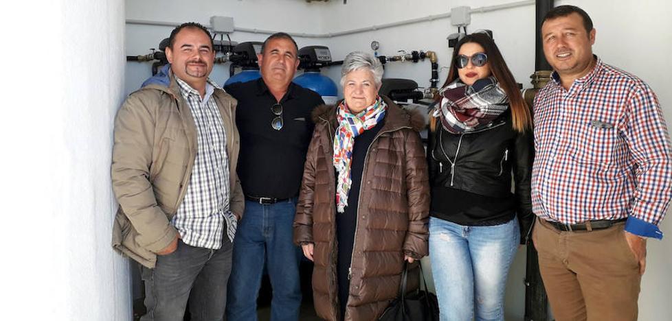 La Diputación finaliza las obras de la potabilizadora de Venta Quemada