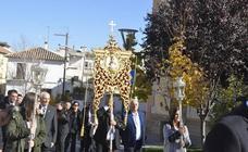 La Hermandad del Rocío de Baza, de peregrinación en la aldea almonteña