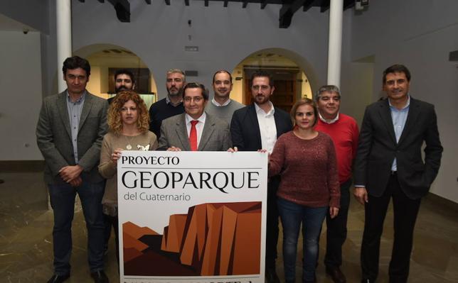 Presentan ante la UNESCO la candidatura 'Cuaternario Valles del Norte de Granada' a Geoparque mundial