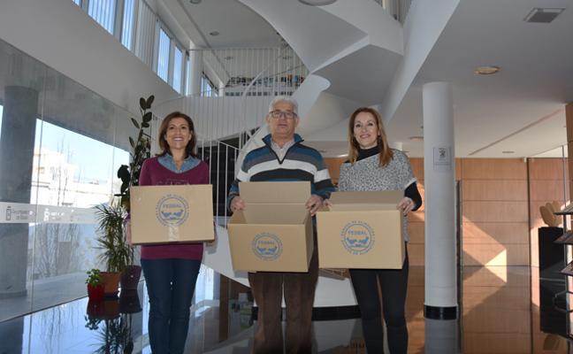 Biblioteca solidaria con el Banco de Alimentos