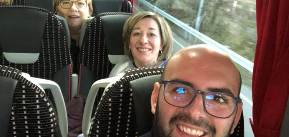 Alcaldes de Granada, Almería y Jaén viajan a Madrid a exigir la línea eléctrica de gran capacidad