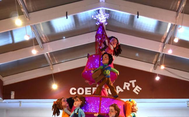 La Escuela de Arte de Huéscar inaugura su exposición de Christmas