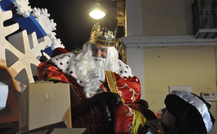 La Cabalgata de Reyes en Baza