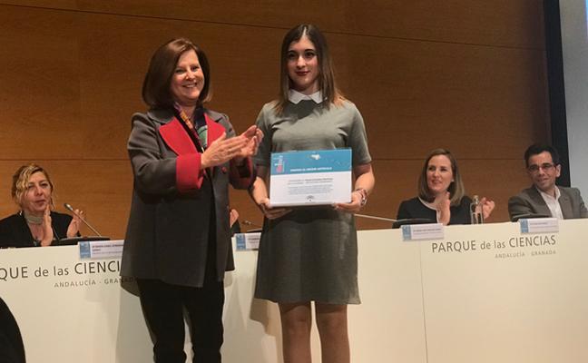 Paula González, obtiene el primer del certamen `HazTICenTuFuturo´