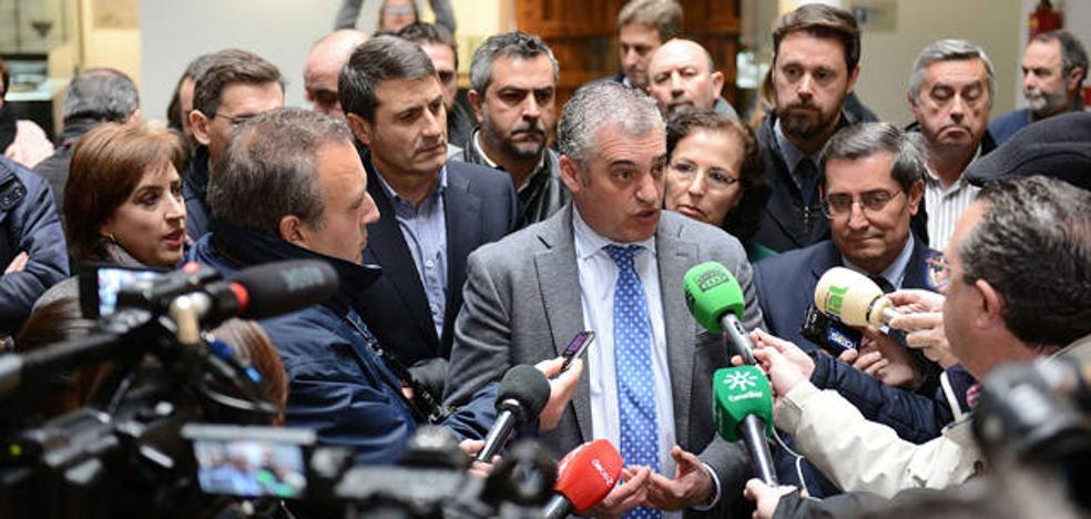 Javier Carnero vuelve a exigirle al Gobierno que cumpla sus compromisos con la línea eléctrica Caparacena-Baza-La Ribina