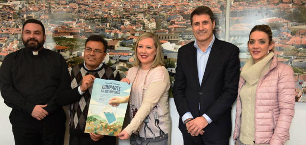 Manos Unidas Baza presenta al Ayuntamiento los proyectos que financiará durante el presente año