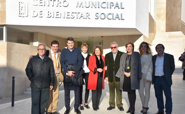 """Sánchez Rubio subraya """"la apuesta"""" del Ayuntamiento de Baza por unos servicios sociales públicos de calidad"""
