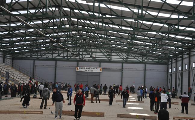 Baza acoge el Campeonato Provincial Individual de Petanca