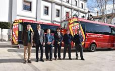 Comienzan a circular los nuevos autobuses del transporte público de Baza que ya presta Autedia