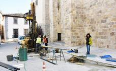 Estudios geotécnicos para conocer el estado de los túneles de la Alcazaba y la Iglesia Mayor