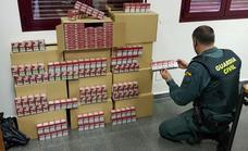 Incautadas 3.000 cajetillas de tabaco de contrabando en la A-92 a la altura de Gor