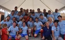 El Churriana Club de Fútbol celebra su meritorio ascenso a la División de Honor
