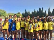 El equipo absoluto del CN Churriana brilla en el Subcampeonato de Andalucía