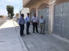 Obras Públicas mejora el acerado de la calle Diagonal de San Agustín