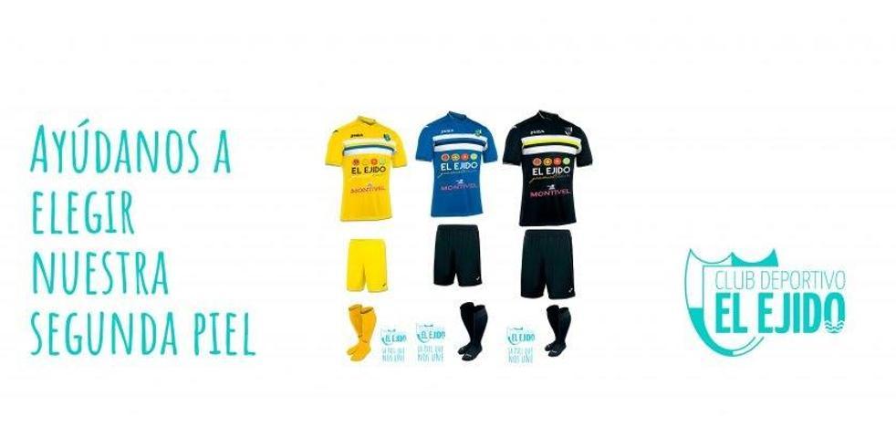 ¿Qué colores te gustan para la segunda equipación del CD El Ejido?
