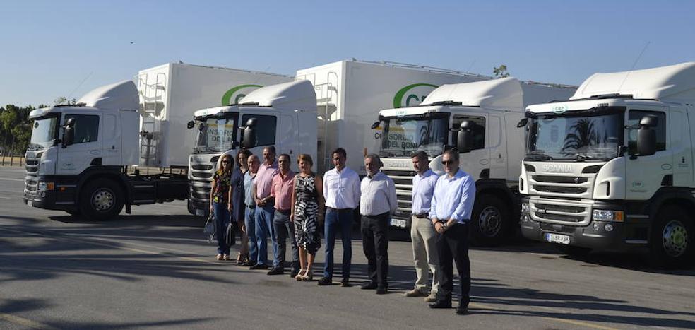 El Consorcio de Residuos y Sector II adquieren nuevos vehículos por más de 228.000 euros