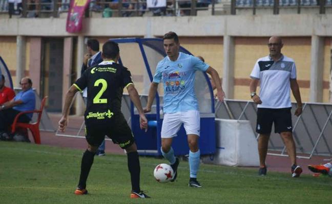 El CD El Ejido podría tener cuatro bajas para la visita al Real Murcia