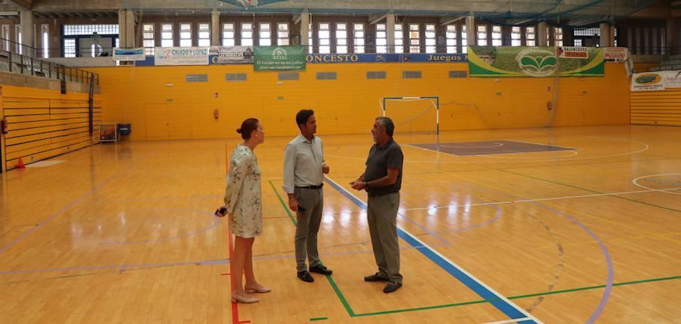 Arranca la renovación de la cubierta del Pabellón con un presupuesto de 45.000 euros