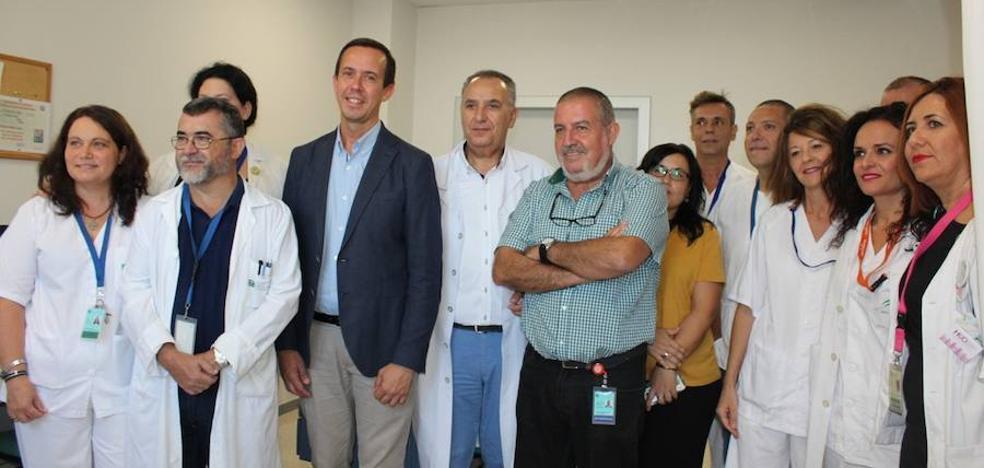 La Junta invierte 50.000 euros en mejorar las consultas externas de cirugía en el Hospital de Poniente