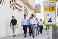 La Diputación Provincial renueva el firme de un tramo de la travesía AL-4300 en Balerma