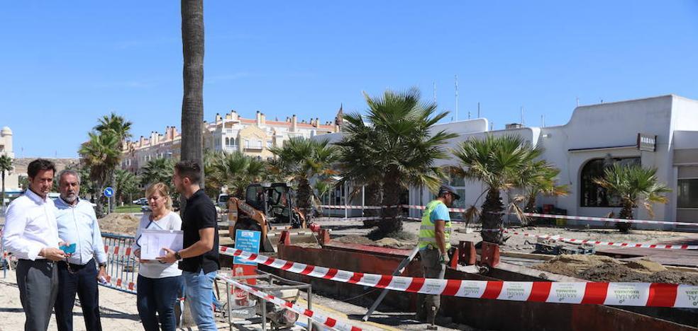 Se inicia la dotación de pluviales en la Batea y calle Faro del núcleo de Almerimar