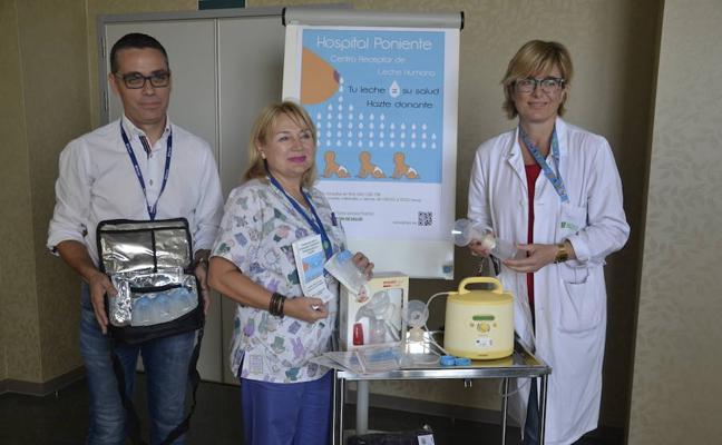 El Hospital de Poniente ya cuenta con cinco donantes en su Banco de Leche Humana