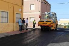 El Gobierno de El Ejido trabaja en la modernización de una treintena de calles en Ejido Sur