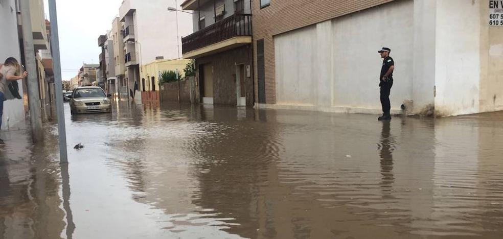 Balerma se lleva la peor parte tras el paso de la tormenta por El Ejido