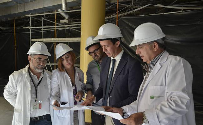 Las obras del Hospital de Día Médico del Poniente avanzan a buen ritmo para concluir en plazo